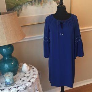 Michael Kors royal blue dress